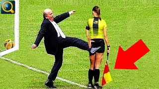 20 EMBARRASSING AND FUNNIEST REFEREE SITUATIONS IN SPORTS