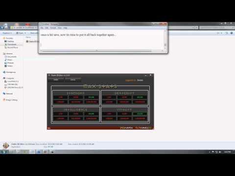 Diablo 3 stat modding tutorial