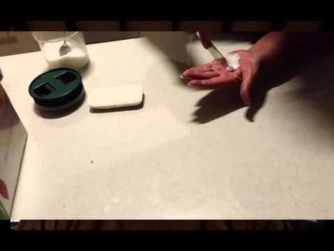 How To Make A Sugar And Soap Poultice - Use household ingredients to make a very effective poultice!