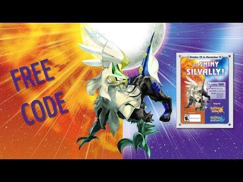 FREE Shiny Silvally Pokemon Sun and Moon  Codes - Good Till Feb 13 2018