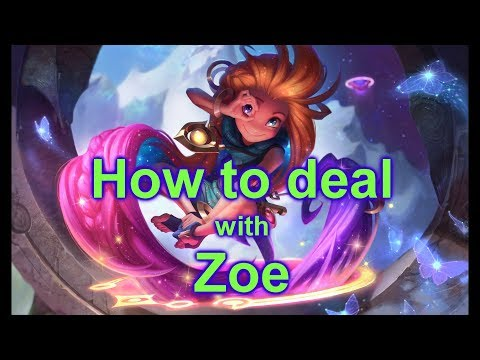 How to Deal with Zoe DongHuaP