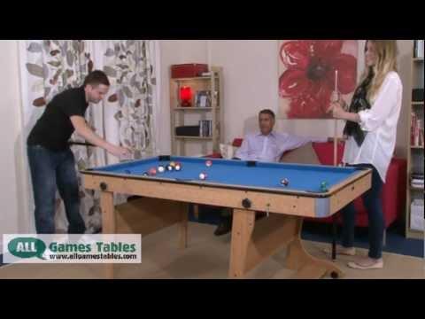 BCE Folding Leg Pool Table FP-6