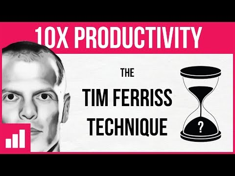 How to Get More Done in Less Time ► The Tim Ferriss Technique (ft. TheModeler)