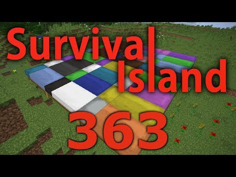 Minecraft- Survival Island [363] Falling Asleep While Playing Minecraft