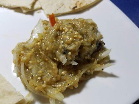 Baigan Choka: Trini Breakfast Dish: Taste of Trini