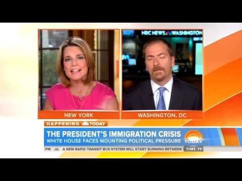 NBC's Savannah Guthrie Tries To Blame Congress For Immigration Crisis