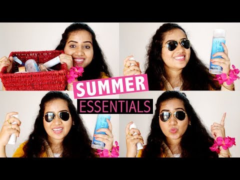 TOP 17 SUMMER ESSENTIALS 2018 | Happy Pink Studio
