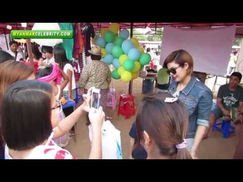 Myanmar Artists' Charity Bazaar for Donation to Orphanages