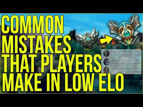 The MOST COMMON MISTAKE Bronze & Silver Players Make in Season 8