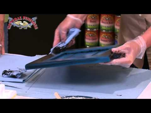How to Apply Glaze Effects Over General Finishes Milk Paint,  Make Repairs | General Finishes