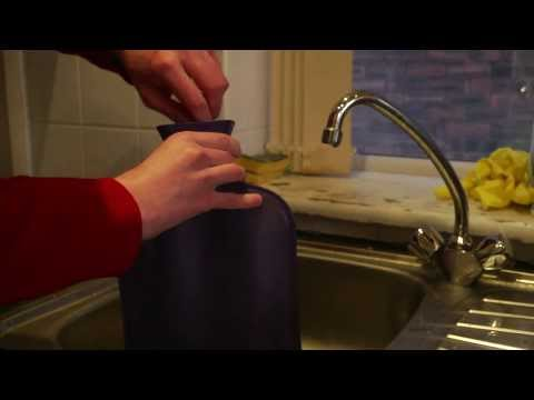 An Instructional Video on How to Fill a Hot Water Bottle Safely