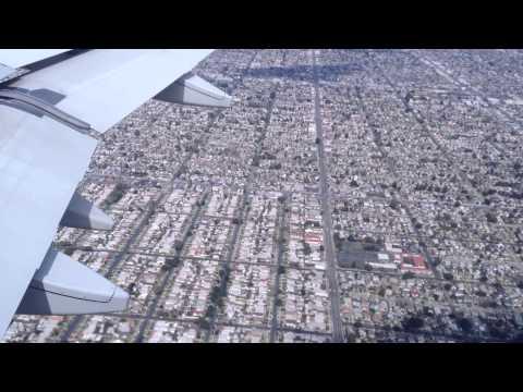 Los Angeles, California - Landing at LAX HD (2014)