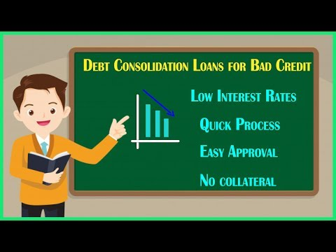 Instant Debt Consolidation loans Guaranteed Quick Approval, Bad Credit OK