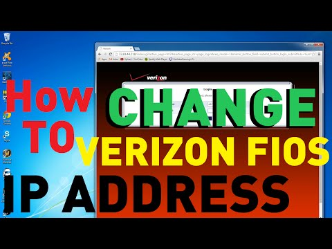 Change Verizon FIOS IP Address [Internet Guide]