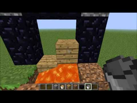 How To Light a Nether Portal Without Flint and Steel