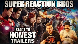 Download SRB Reacts to Honest Trailers - MCU Video