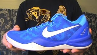 check out 025ac 1aadb get photos nikebasketball 904c6 db54a  hot nike kobe 8 system blue coral  snake 9e798 359d2