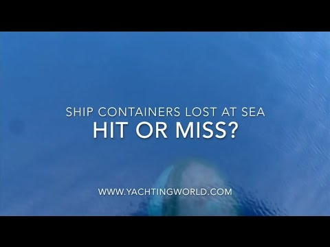 Lost shipping containers - what's the risk to yachts?