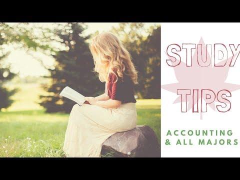 Study Tips | Accounting & All Majors |
