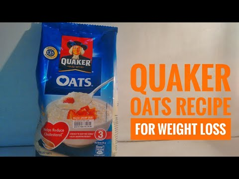 How to make Quaker oats | oats recipe for weight loss | oats helps reduce cholesterol