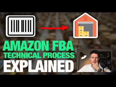 The Amazon FBA Technical Process EXPLAINED (Barcodes, UPC codes, and Shipping)