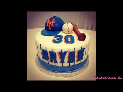 Baseball Cake Design Decorating Ideas