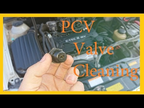 PCV Valve Cleaning