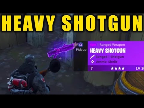 Fortnite: HEAVY SHOTGUN GAMEPLAY! || Fortnite Battle Royale!