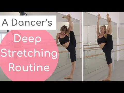 A Dancer's Stretching Routine for increased flexibility II Follow-along at home