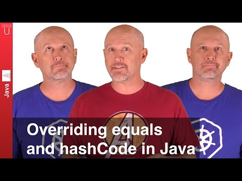 Overriding equals and hashCode in Java - 039