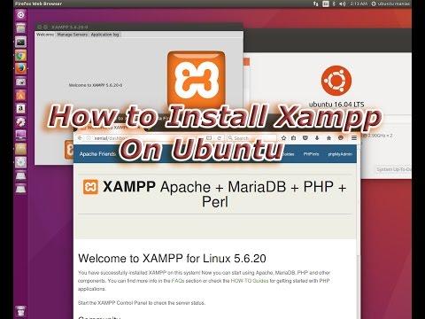 ✓ Xampp : How to install and use Xampp on Ubuntu 2016