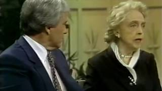 Myrna Loy, Lillian Gish--1980 TV Interview