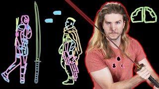 Can You Slice Bullets Like Deadpool?