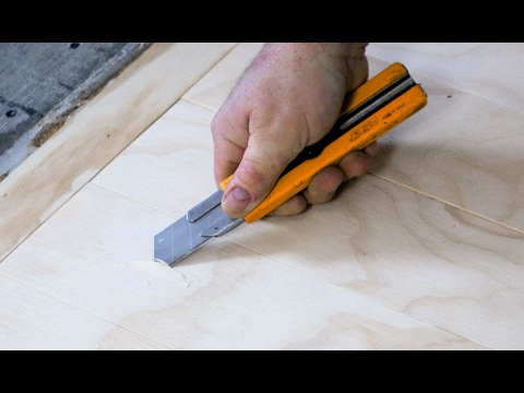 More About The Plywood Floor