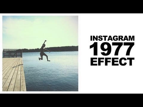 Photoshop CS5 Tutorial: How to create the Instagram 1977 filter effect (film retro look)