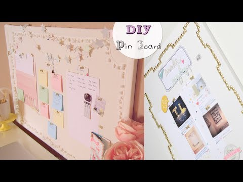 DIY Pin Boards & Star Garland
