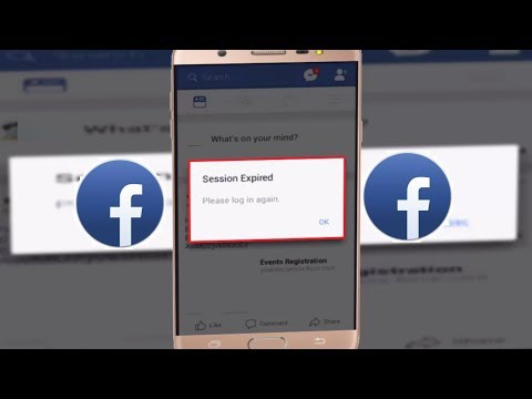 How to Fix Session Expired Error of Facebook in Android
