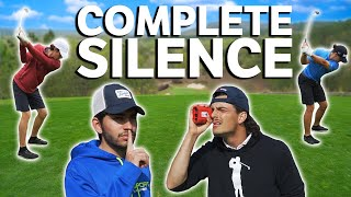 G VS M | Complete Silence Golf Challenge | Caddies Do The Talking For The Players | GM GOLF