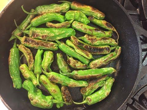 Blistered Shishito Peppers (Vegan & Gluten Free)