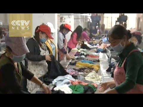 A booming market overseas for China's second-hand clothes