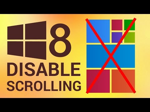 How to Disable Start Screen Parallax Scrolling in Windows 8