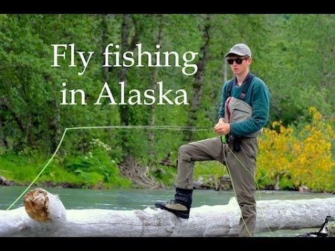 Fly fishing in Alaska