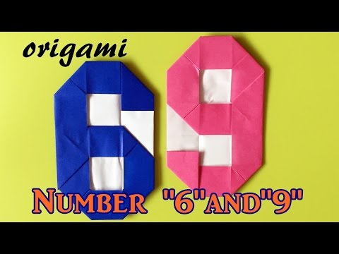How to make paper number