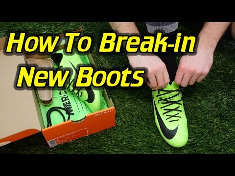 What is Break-in Time and How To Break-in New Soccer Cleats/Football Boots
