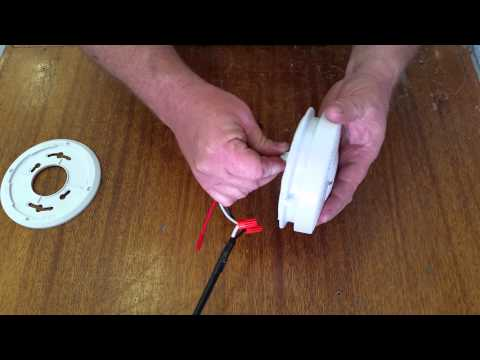 Smoke Detector battery replacement fix chirping or beeping Fire Alarm