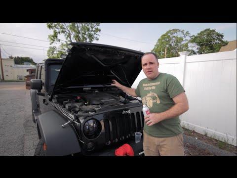 How to properly Seafoam a Jeep Wrangler JK