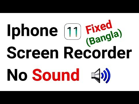 Iphone Screen Recorder No Sound Fixed | NO SOUND FIX ON iOS 11 SCREEN RECORDER