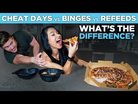 CHEAT DAYS / BINGE EATING / REFEEDS | What's The Difference?