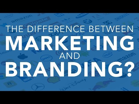 The Difference Between Marketing and Branding?