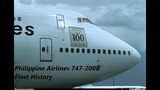 Philippine Airlines 747-200B Fleet History (1979-2000)